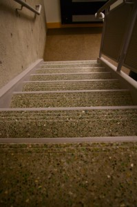 G-ROC stairs municipal house