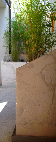 urban planter concrete modern